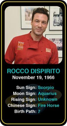 Celeb #Scorpio birthdays: Rocco Dispirito's astrology info! Sign up here to see more: https://www.astroconnects.com/galleries/celeb-birthday-gallery/scorpio?start=150  #astrology #horoscope #zodiac #birthchart #natalchart #roccodispirito #food #chef