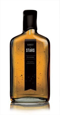 Dancing Pines Bourbon packaging by Tenfold , via Behance.