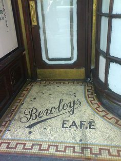 Bewleys Tea, Grafton Street, Dublin, Ireland