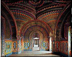 Castello di Sammezzano, Florence Italy.  Really cool art!