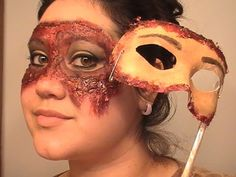 Bloody Mask Special Effects Tutorial