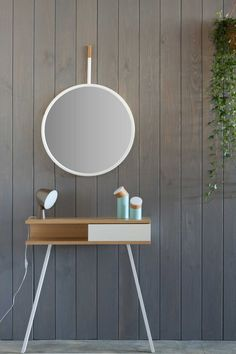 'Hang Mirror,' 2014 by Omelette-ed at Design Trade 2014 | Yellowtrace