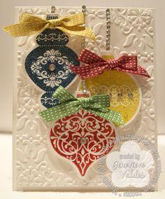 Ornament Keepsakes CArd