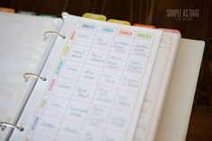 Staying Organized Throughout the School Year - simple as that