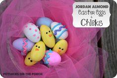 """""""Jordan Almond Easter Eggs & Chicks"""""""