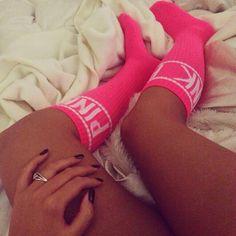 valentines day nike socks