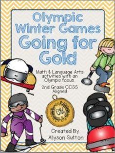2014 Winter Olympic Games Unit Sochi Winter Games Winter Olympics Activities