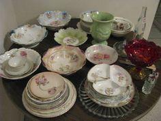 Antique Dishes.