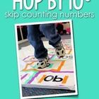Bring activity exploration into your math instruction with this Hop by 10s set of skip counting numbers. Print each number page, laminate, then cut...