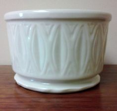 Vintage McCoy Ceramic Planter  395 by FingerLakesFinds on Etsy, $10.00