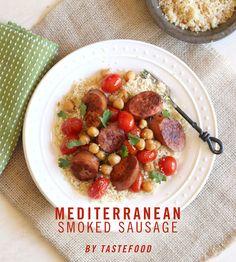 15 Minute Sensations: Mediterranean Smoked Sausage by @Lynda Balslev #SoSimple