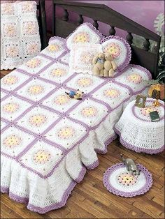 Floral Bedroom Motif