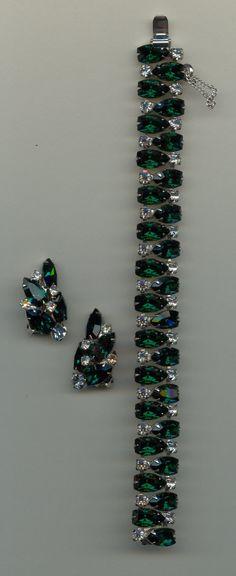 Sparkling Holiday Greens  ~ Jewelry Gift Treasury! ~ by clara427 on Etsy