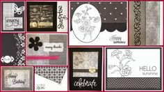 Quick and Easy cards with Liz & Susan at Scraps Galore July 19 at 11am, come join the fun!