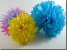 brownie girl scouts crafts, girl scout daisies, tissu paper, paper garden, tissue paper flowers