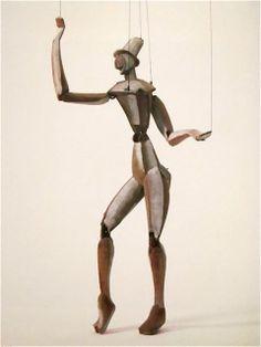 "Otto Morach  ""La boite a joujoux: Pierrot""  1918"