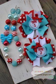 Adorable Dr. Seuss accessories