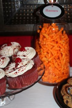 Harris Sisters GirlTalk: Firefighter - Fire Truck - Fireman Birthday Party Food
