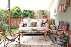 25 DIYs to Spruce Up Your Patio