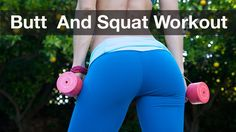 Butt & Squat Workout - Only 5 Minutes!