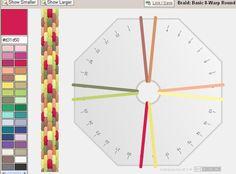 KumiPlanner - Kumihimo Pattern Design Application - Beta