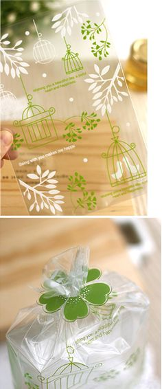 bird cage treat bags