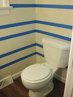 How to paint striped walls: tutorial from Young House Love