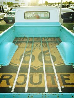 1965 Chevy Truck Texas Route 66 Bed Floor.