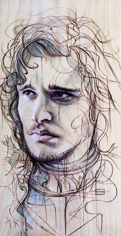 Jon Snow #gameofthrones