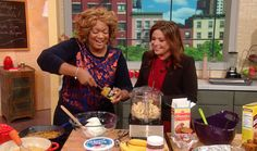 Sunny Anderson's Two-Ingredient Recipes (Part 1) - Savory, sweet, bread, sauce, etc...