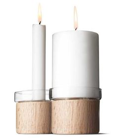 Chunk Candle Holder by Menu