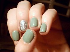 Brighter Shade of Pale Nails
