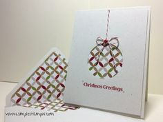 Susan Itell So simple and elegant card