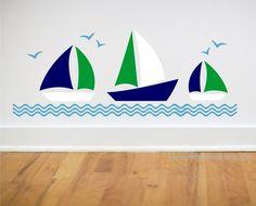 sailboat decals