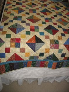 scrap buckeye beauty quilt..this is one of my favorites