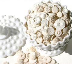 cake, vintage buttons, candi button, edibl button