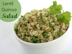 The Garden Grazer: Lentil Quinoa Salad