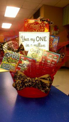 lotto ticket basket for my honey ticket basket lotto basket