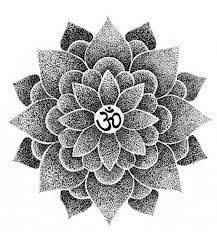 "I'd get ""namaste"" written somewhere around this. #yoga #tattoo"