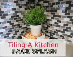 Kitchen Backsplash Tutorial