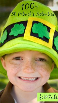 Over 100 of the best St. Patrick's Day activities for kids in one spot {collected from all over the web}