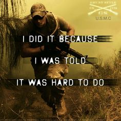 ... I was told it was hard to do - MilitaryAvenue.com