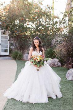 Fantastic fall wedding ideas. #weddingchicks Captured By: Brian LaBrada Photography http://www.weddingchicks.com/2014/08/15/fantastic-fall-wedding-ideas/