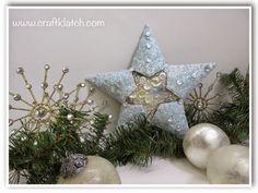 Frosty Christmas Star Tutorial
