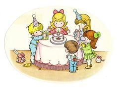 Joan Walsh Anglund - birthday party