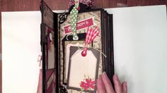 Here is a tutorial on how I constructed my pages in the Vertical Paper Bag Christmas Mini Album. http://mysistersscrapper.com/