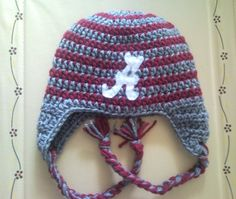 CROCHET ALABAMA FOOTBALL PATTERN Crochet Patterns Only