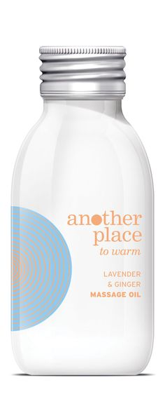 Another Place lavender and ginger massage oil - 100ml. £14.00