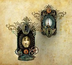 Curio-Tins.1. by jack and cat curio, via Flickr