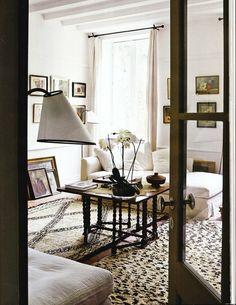 Beni Ourain rugs.